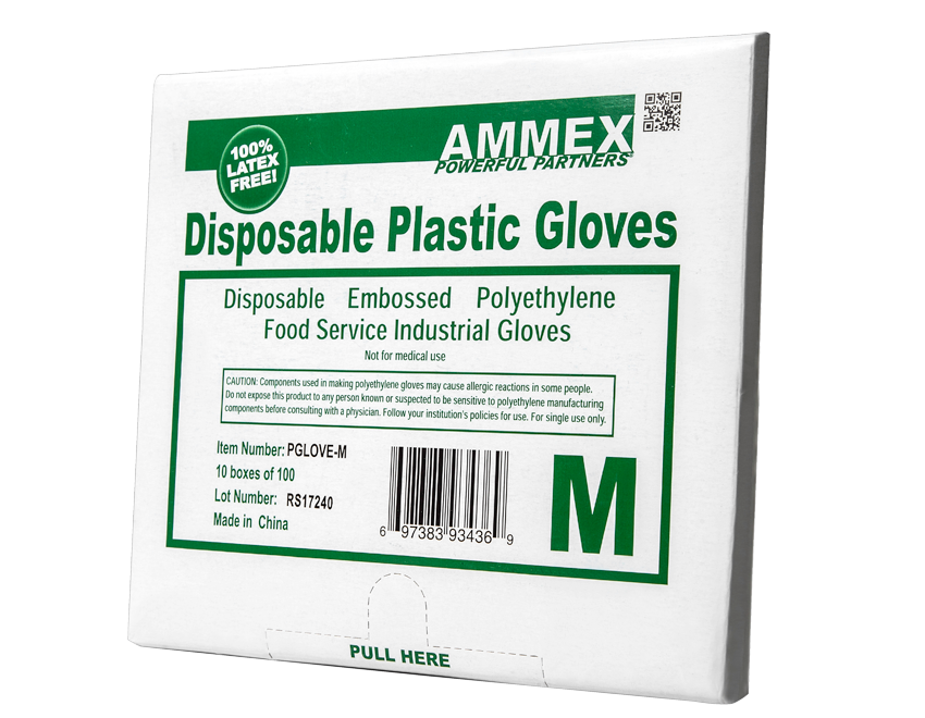 Polyethylene Food Service Non-Sterile Gloves
